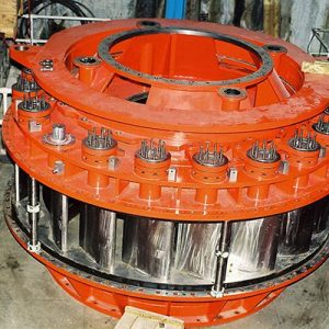 Turbine Distributor for 90MW Francis Turbine Ready for Installation