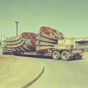 Transport of Draft Tube Liners for 75MW Francis Turbine