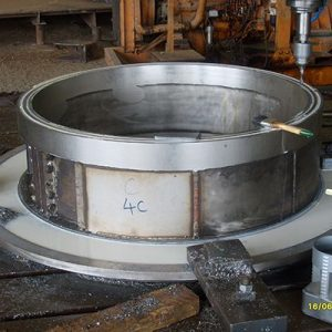 Manufacture of Rotating Sump Cover for 85MW Francis Turbine