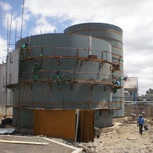 On-site Fabrication of Larger Diameter Tanks