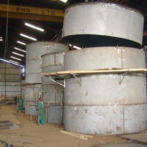 Manufacturing of Oil Storage Tanks
