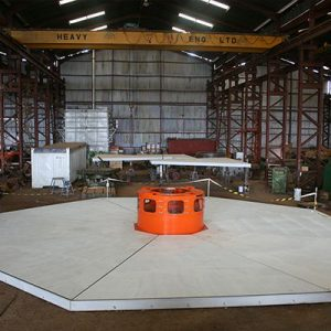 Generator Pit Covering