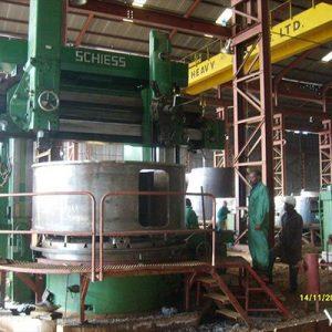 Generator Rotor Pedestal