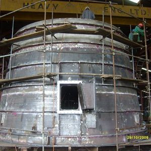Fabrication of Draft Tube Cone for  50MW Kaplan Turbine