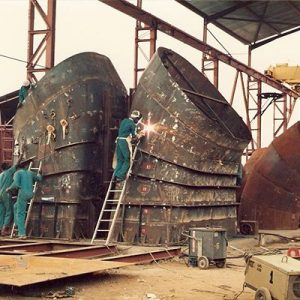 Fabrication of Draft Tube Liner and Spiral Casing Segments for 75MW Francis Turbine