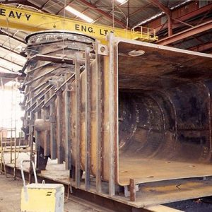 Fabrication of Draft Tube Liner for 60MW Francis Turbine