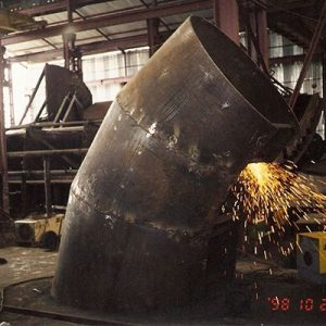 Fabrication of Spiral Casing for 90MW Francis Turbine