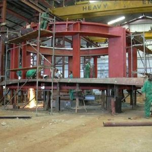 Fabrication of Stay Ring for 50MW Kaplan Turbine