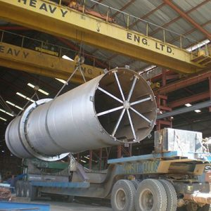 Tandem Lifting of parts weighing up to 50 tons