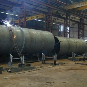 Fabrication of Penstock Shells Similar to Wind Tower Sections