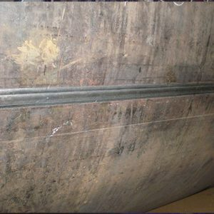 Pipe Welding - Outside Longitudinal Welding Seam from Submerged Arc Welding Seam