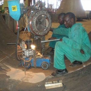 Pipe Welding - Submerged Arc Welding of Circumferential Seam