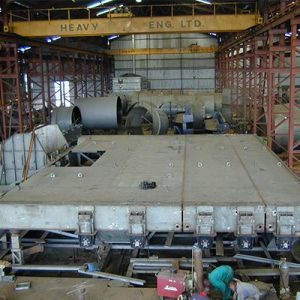 Fabrication of Spillway Gate and Penstock Shells