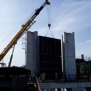 Installation of Intake Gates