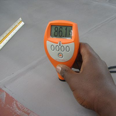 Dry Film Thickness Measurement for Painted Surface