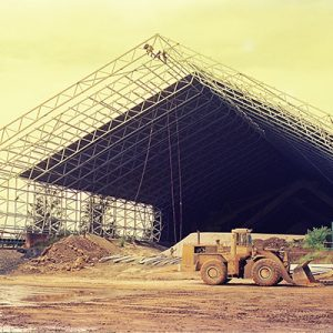 Cement Ore Storage Hall Steel Structure