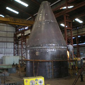 Fabrication of Hot Gas Generator