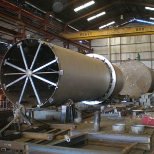Fabrication of Rotary Dryer Shell